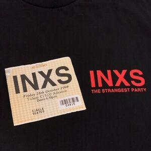 INXS - The Strangest Party - Brixton Academy 1994 - Ticket & T-Shirt