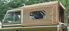 NEW 88 Series 1 Full Land Rover Canvas Hood With Side Windows-2 colour opitons