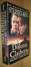 Stephen King 11th prt Dolores Claiborne Pb Signet Ae8411 paperback 1993 novel Vg