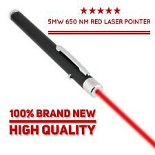 Red Laser Pointer Pen Beam Light 5mW 650nm Professional High Power Single Dot