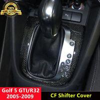 RHD Carbon Fiber Interior Shifter Cover Shift Trim for VW Golf 5 MK5 GTI R32