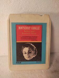 Montserrat Caballe Bellini & Donizetti Arias RCA Eight 8 Track Tape et745