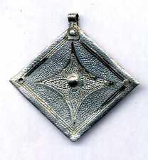 Morocco - Berber silver Berber beads pendant for necklace