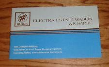 Original 1985 Buick Electra Estate Wagon LeSabre Owners Operators Manual 85