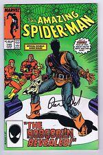 Amazing Spider-Man #289 Signed w/COA Peter David Very Fine 1987 Marvel CGC