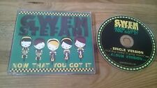 CD Pop Gwen Stefani - Now That You Got It (2 Song) Promo INTERSCOPE REC sc