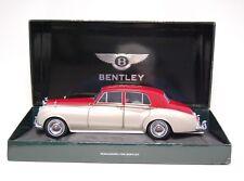 Minichamps 1:18 Bentley S2 1960-Plateado/Rojo Oscuro-dañada - 100139950