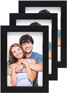 Black White Photo Frame A1 A2 A3 A4 A5 Picture Frame Wood Dark Oak Modern Frames