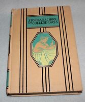 Young Folks Library Stories of School and College Days  c1947