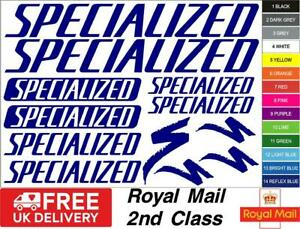 SPECIALIZED Bikes Decals, Stickers, Mtb. Cycling, Bmx, Car, Van