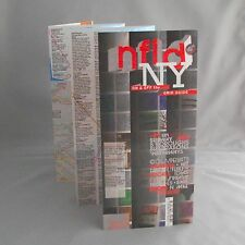 Guide + Map nfld Laminated NYC New York Manhattan - Augmented Reality edition