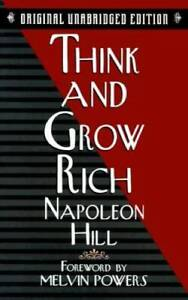 Think and Grow Rich - Paperback By Hill, Napoleon - GOOD