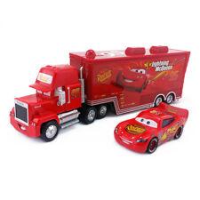 Disney Pixar Car No.95 Mack Racer's Truck & Radiator Springs McQueen Car 1:55