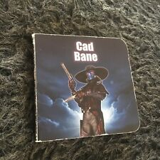 STAR WARS MINI BOARD BOOK. CAD BANE. 10 PAGES.  9 BY 9 CM