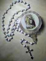 First Communion Favors Christening Girl Rosary Primera Comunion Recuerdos