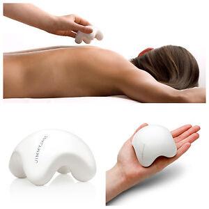 Jimmy Jane Contour M Massager Porcelain Hot & Cold Massage Stone Tension Relief