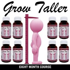 GROW up to six inches in height be TALLER safely, 8 Month course, sold worldwide