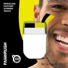 Yellow Black Fanbrush Supporter Face Paint Stick Adult Kids Body Makeup Watford