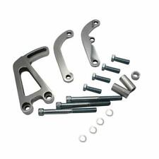 Polished Billet Power Steering Bracket Kit For SB Chevy SBC Small Block 262-400