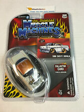 1958 Chevy Impala * WHITE/Gold * the Original Muscle Machines * G55