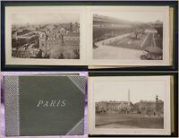 Leporello von Paris um 1930 Ansichten Architektur Landschaft Frankreich sf
