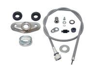 Vespa Speedometer Cable Non Disc Brake with Spares PX 125 150 LML Stella Star