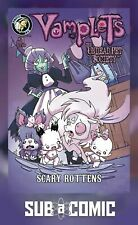 VAMPLETS UNDEAD PET SOCIETY #1 SCARY ROTTENS COVER A (ACTION LAB 2019) COMIC