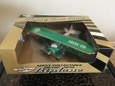 Arch Inc. Flying Time Die-Cast Metal Biplane (New In Sealed Box)