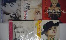 MADONNNA Lot of 9 titles JAPAN OBI VINYL 9LP
