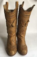 Anna Sui Butterfly Cowboy Boots 38,5