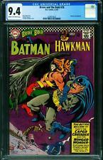 BRAVE AND THE BOLD  #70 CGC 9.4 BATMAN-HAWKMAN 2039573023