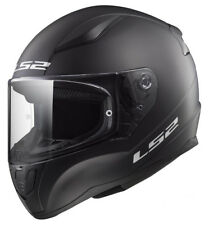 LS2 Matt Black Motorcycle Helmet Small Ff352