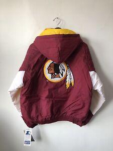 vintage washington redskins starter jacket coat mens size large deadstock NWT OG