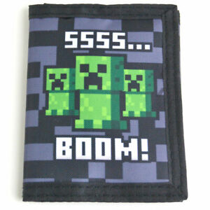 Minecraft Kids Ssss BOOM Wallet