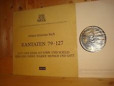 Bach Cantatas BWV 79 & 127 KARL RICHTER TELEFUNKEN LP AWD 9917-C Black Gold EX