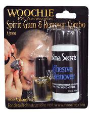 1/8 OZ SPIRIT GUM AND REMOVER STAGE PROSTHETICS ADHESIVE COSTUME MAKEUP CSAD001C