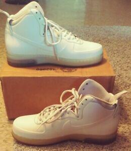 Nike Air Force 1 Foamposite Pearl Sz 12