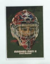 2009-10 Between The Pipes Masked Men II Gold #MM18 Evan Mosher (20 made)