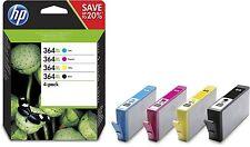 HP 364XL 4-pack High Yield Black/Cyan/Magenta/Yellow Original Ink Cartridges ...