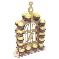 MDF Ferrero Rocher Wedding Display Stand Bird Cage Confectionery Holder - A287