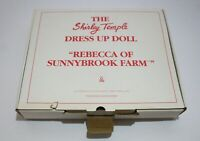 "THE SHIRLEY TEMPLE DRESS UP DOLL ""Rebecca of SunnyBrook Farm"" CLOTHING"