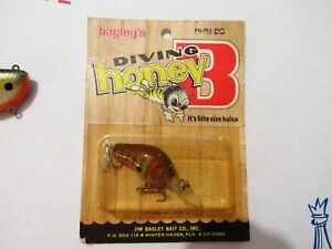 Super Teeny All Brass Vintage 1970s Bagley Fishing Lure DHB1-DC Made In USA