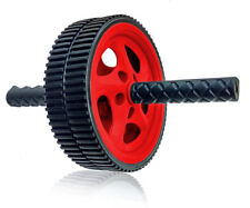 Wacces AB Power Wheel Roller for Abs, Abdominal Roller Workout Exercise - Red