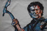 1987 EVIL DEAD 2 dead by dawn t-shirt vtg 80s cult horror movie screen stars XL