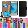 Case For Samsung Galaxy J1 J2 J3 J4 J5 J6 Plus Leather Wallet Flip Stand Cover