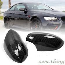 Carbon Fiber BMW 3-Series E90 E92 E93 M3 Mirror Cover Side 08-13 1 Pair