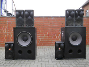 JBL Club PA- Sound- System, JBL 4716,JBL 4645B, JBL MPA 600, JBL 5235, High-End