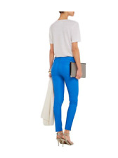 J Brand cobalt blue leather pants, NWT, size 27, retailed for $950.00