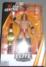 TRIPLE H WWE Mattel Elite Collection Fan Central Action Figure Toy Belt DMG PKG