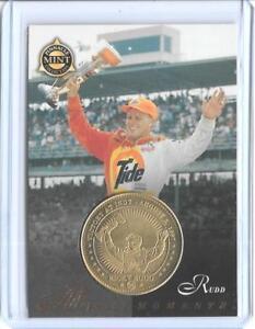 AWESOME 1998 PINNACLE MINT RICKY RUDD BRASS COIN & CARD #29 ~ NASCAR LEGEND 10